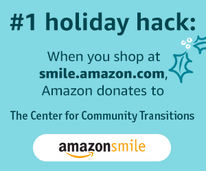When you shop for the holidays at AmazonSmile, they will make a donation to CCT!